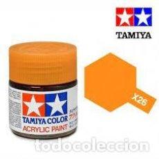 Maquettes: TAMIYA - X26 CLEAR ORANGE. Lote 251097770