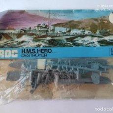 Maquetas: FROG H.M.S. HERO DESTROYER 1/500. Lote 251774625
