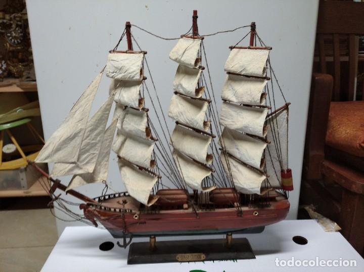 Maquetas: Excelente maqueta de barco. Constitution. - Foto 2 - 251922915