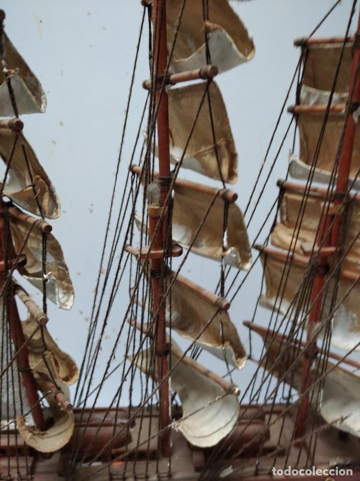 Maquetas: Excelente maqueta de barco. Constitution. - Foto 14 - 251922915