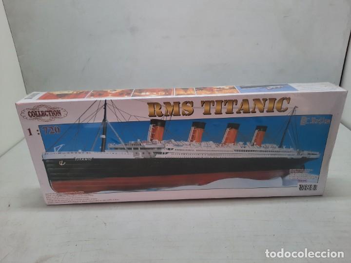TITANIC MAQUETA PRECINTADA ESCALA 1:720 RMS , NUEVA A ESTRENAR!! (Juguetes - Modelismo y Radiocontrol - Maquetas - Barcos)