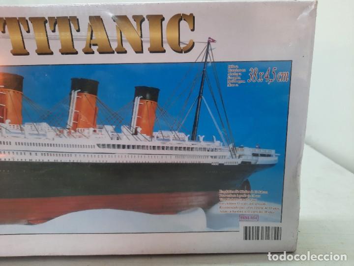 Maquetas: TITANIC MAQUETA PRECINTADA ESCALA 1:720 RMS , NUEVA A ESTRENAR!! - Foto 6 - 251967190