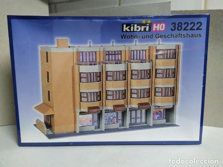 EDIFICIO RESIDENCIAL Y COMERCIAL, KIBRI 38222 , KIT PARA MONTAR , ESCALA 1/87 (Juguetes - Modelismo y Radiocontrol - Maquetas - Construcciones)