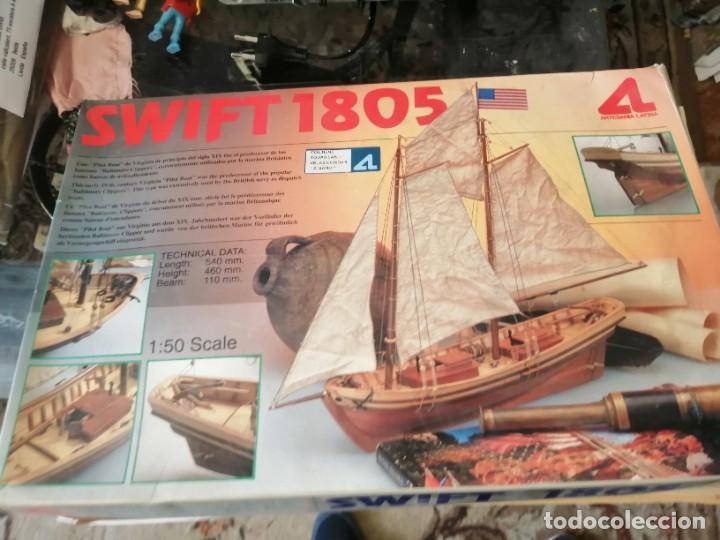 MAQUETA BARCO SWIFT 1805 DE ARTESANÍA LATINA (Juguetes - Modelismo y Radiocontrol - Maquetas - Barcos)