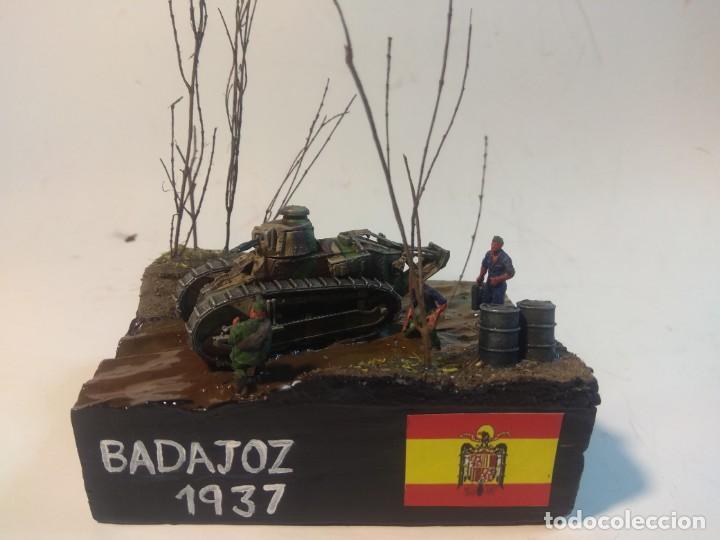 DIORAMA MAQUETA GUERRA CIVIL ESPAÑOLA - BADAJOZ 1937 (Juguetes - Modelismo y Radiocontrol - Maquetas - Militar)