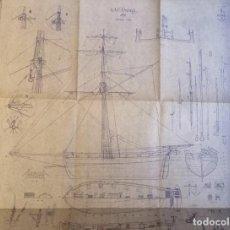 Maquettes: BALANDRA ARMADA PLANO DE BARCO - MODELISMO NAVAL - MAQUETAS - A. M. N. E.. Lote 253186660