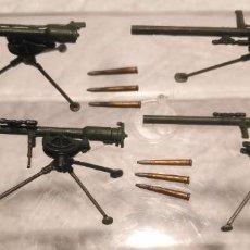 Maquetas: LOTE 4 CAÑONES M18 Y MUNICIÓN 57 MM 1/35 MONTADOS Y PINTADOS. Lote 253584070