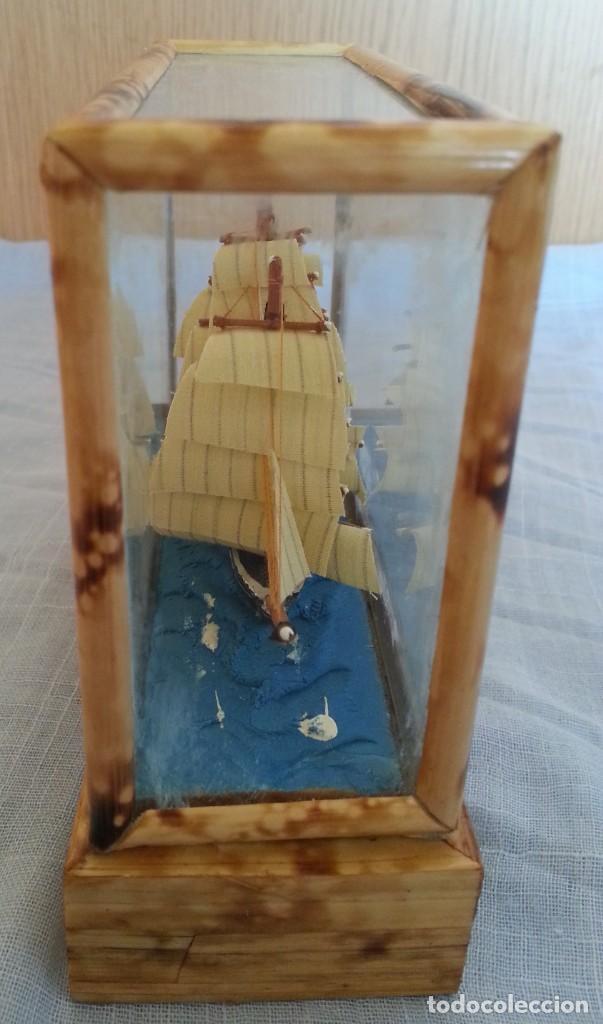 Maquetas: Barco. Pequeña maqueta en vitrina. - Foto 3 - 253631175