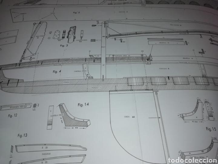 Maquetas: Balandro navegable Snipe Constructo 79cm - Foto 6 - 253637785