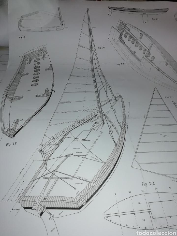 Maquetas: Balandro navegable Snipe Constructo 79cm - Foto 7 - 253637785
