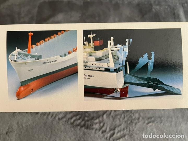 Maquetas: M.S. Nedlloyd Lines ROUEN 1:450 IMEX 880 nedlloid maqueta barco - Foto 2 - 253644075