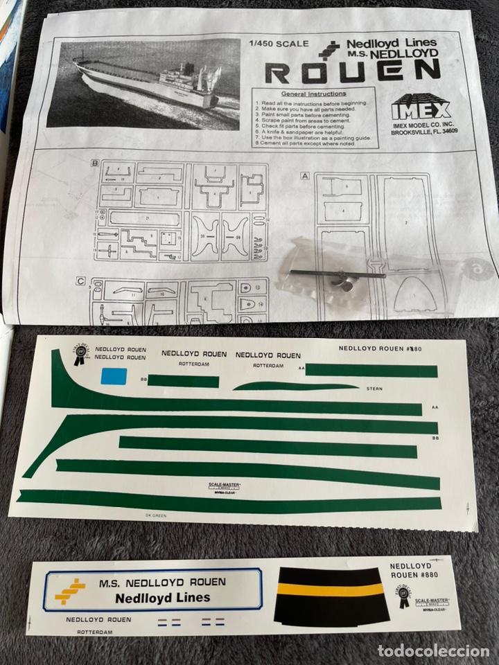 Maquetas: M.S. Nedlloyd Lines ROUEN 1:450 IMEX 880 nedlloid maqueta barco - Foto 3 - 253644075