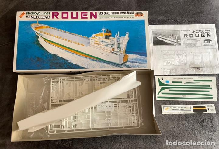 Maquetas: M.S. Nedlloyd Lines ROUEN 1:450 IMEX 880 nedlloid maqueta barco - Foto 4 - 253644075