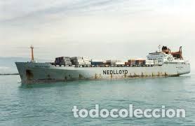 Maquetas: M.S. Nedlloyd Lines ROUEN 1:450 IMEX 880 nedlloid maqueta barco - Foto 6 - 253644075
