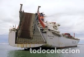 Maquetas: M.S. Nedlloyd Lines ROUEN 1:450 IMEX 880 nedlloid maqueta barco - Foto 7 - 253644075