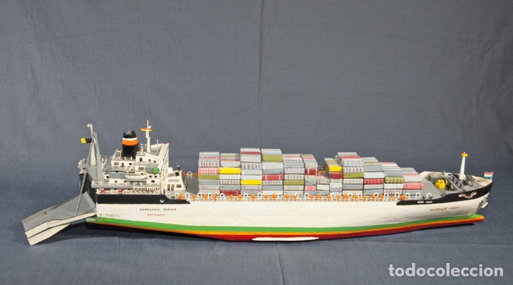 Maquetas: M.S. Nedlloyd Lines ROUEN 1:450 IMEX 880 nedlloid maqueta barco - Foto 8 - 253644075