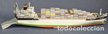 Maquetas: M.S. Nedlloyd Lines ROUEN 1:450 IMEX 880 nedlloid maqueta barco - Foto 9 - 253644075