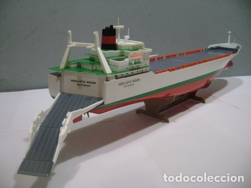 Maquetas: M.S. Nedlloyd Lines ROUEN 1:450 IMEX 880 nedlloid maqueta barco - Foto 10 - 253644075
