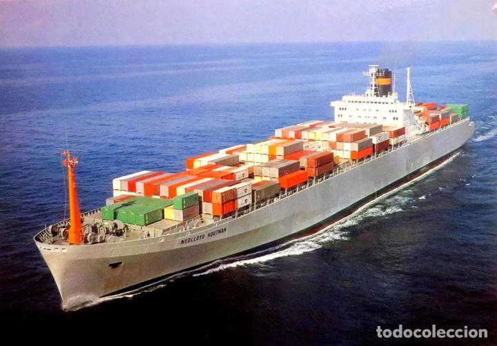 Maquetas: M.S. Nedlloyd Lines ROUEN 1:450 IMEX 880 nedlloid maqueta barco - Foto 11 - 253644075