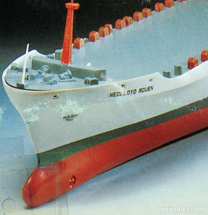 Maquetas: M.S. Nedlloyd Lines ROUEN 1:450 IMEX 880 nedlloid maqueta barco - Foto 12 - 253644075