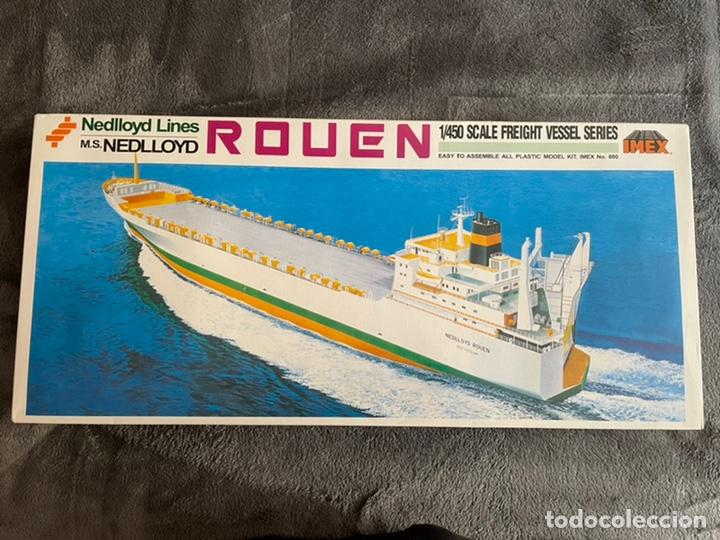 M.S. NEDLLOYD LINES ROUEN 1:450 IMEX 880 NEDLLOID MAQUETA BARCO (Juguetes - Modelismo y Radiocontrol - Maquetas - Barcos)