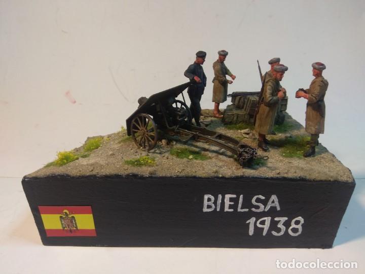 DIORAMA MAQUETA GUERRA CIVIL ESPAÑOLA-BIELSA 1938 (Juguetes - Modelismo y Radiocontrol - Maquetas - Militar)