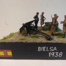 Maquetas: DIORAMA MAQUETA GUERRA CIVIL ESPAÑOLA-BIELSA 1938. Lote 253657420