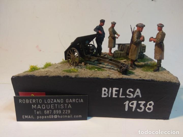Maquetas: DIORAMA MAQUETA GUERRA CIVIL ESPAÑOLA-BIELSA 1938 - Foto 2 - 253657420