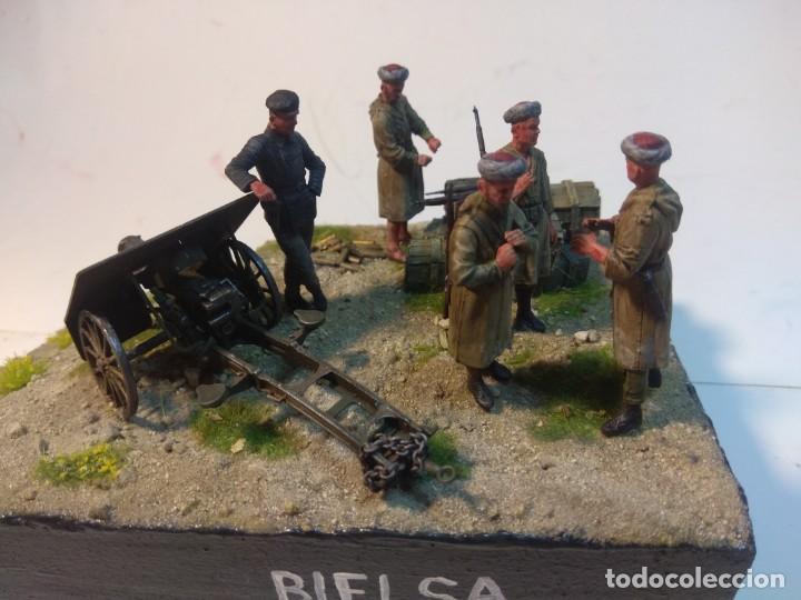 Maquetas: DIORAMA MAQUETA GUERRA CIVIL ESPAÑOLA-BIELSA 1938 - Foto 7 - 253657420