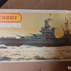 Maquetas: USS INDIANAPOLIS. MATCHBOX 1/700. Lote 253858285