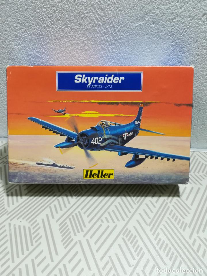Maquetas: Maqueta de avión Skyraider de Heller - Foto 2 - 253907420