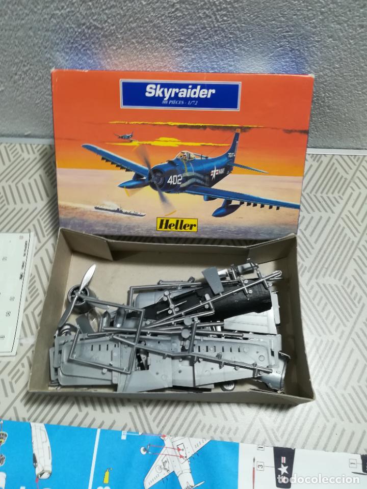 Maquetas: Maqueta de avión Skyraider de Heller - Foto 3 - 253907420