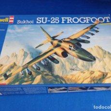 Maquetas: REVELL - MAQUETA AVION SUKHOI SU-25 FROGFOOT, ESCALA 1:72, AÑO 1990! SM. Lote 254277665