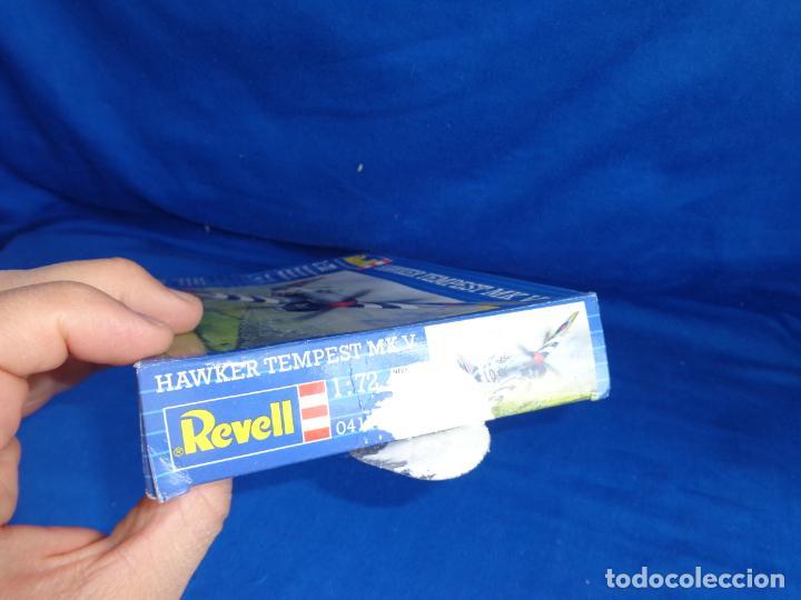 Maquetas: REVELL - MAQUETA AVION HAWKER TEMPEST MK V ESCALA 1:72, AÑO 1993! SM - Foto 6 - 254279835