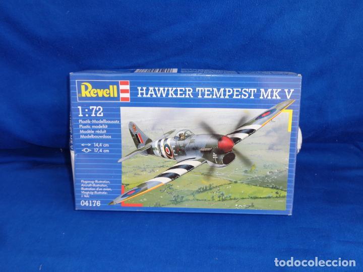 REVELL - MAQUETA AVION HAWKER TEMPEST MK V ESCALA 1:72, AÑO 1993! SM (Juguetes - Modelismo y Radio Control - Maquetas - Aviones y Helicópteros)