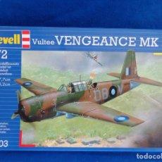 Maquetas: REVELL - MAQUETA AVION VULTEE VENGEANCE MK II ESCALA 1:72, AÑO 1996! SM. Lote 254280060