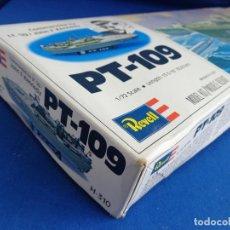Maquetas: REVELL - MAQUETA BARCO PT-109 ESCALA 1:72 AÑO 1987,MADE IN USA LEER DESCRIPCION! SM. Lote 254281625