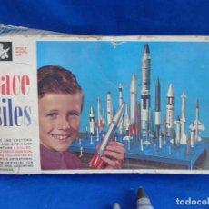 Maquetas: MONOGRAM - MAQUETA U.S. SPACE MISSILES MONOGRAM AÑO 1969,VER FOTOS! SM. Lote 254285035