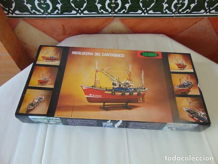 KIT, TALHOER .BARCO PESQUERO. MERLUCERA DEL CANTABRICO ,MODELISMO (Juguetes - Modelismo y Radiocontrol - Maquetas - Barcos)