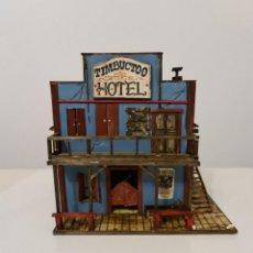 Maquetas: OLD WEST HOTEL CASA, 7 CM COLECCIONABLES-ESCALA 1/35. Lote 254383810