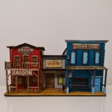 Maquetas: OLD WEST SALOON - MARSHAL - GENERAL STORE COMBO 1 , 7 CM COLECCIONABLES FOAM.. Lote 254385085