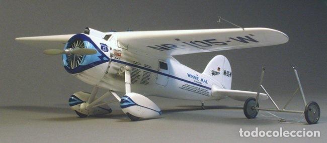 Maquetas: Lockheed Vega WINNIE MAE (ESPAÑOLIZABLE) 1:48 ESCI 4100 maqueta avion Guerra Civil - Foto 5 - 254463130