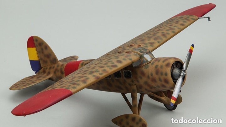 Maquetas: Lockheed Vega WINNIE MAE (ESPAÑOLIZABLE) 1:48 ESCI 4100 maqueta avion Guerra Civil - Foto 7 - 254463130