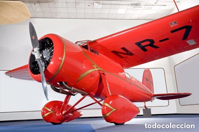 Maquetas: Lockheed Vega WINNIE MAE (ESPAÑOLIZABLE) 1:48 ESCI 4100 maqueta avion Guerra Civil - Foto 10 - 254463130