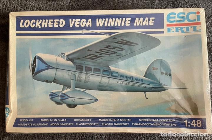 LOCKHEED VEGA WINNIE MAE (ESPAÑOLIZABLE) 1:48 ESCI 4100 MAQUETA AVION GUERRA CIVIL (Juguetes - Modelismo y Radio Control - Maquetas - Aviones y Helicópteros)