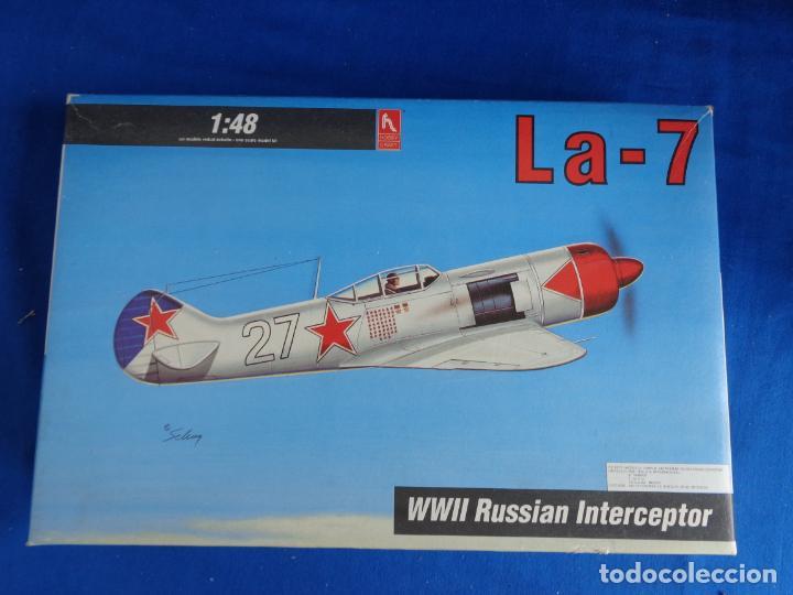 Maquetas: HOBBY CRAFT- MAQUETA AVION La-7 WWII RUSSIAN INTERCEPTOR ESCALA 1:48 VER FOTOS! SM - Foto 3 - 254632195