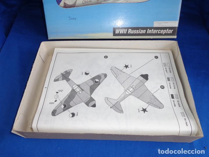 Maquetas: HOBBY CRAFT- MAQUETA AVION La-7 WWII RUSSIAN INTERCEPTOR ESCALA 1:48 VER FOTOS! SM - Foto 7 - 254632195