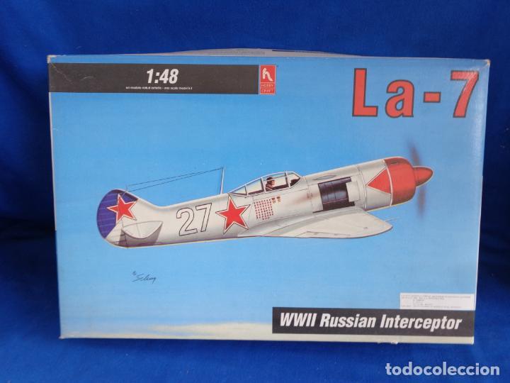 Maquetas: HOBBY CRAFT- MAQUETA AVION La-7 WWII RUSSIAN INTERCEPTOR ESCALA 1:48 VER FOTOS! SM - Foto 21 - 254632195