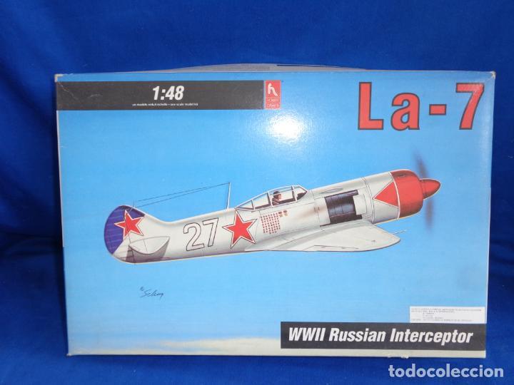 HOBBY CRAFT- MAQUETA AVION LA-7 WWII RUSSIAN INTERCEPTOR ESCALA 1:48 VER FOTOS! SM (Juguetes - Modelismo y Radio Control - Maquetas - Aviones y Helicópteros)