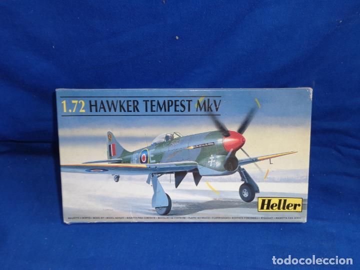HELLER - MAQUETA AVION HAWKER TEMPEST MKV ESCALA 1:72 VER FOTOS! SM (Juguetes - Modelismo y Radio Control - Maquetas - Aviones y Helicópteros)